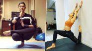 International Yoga Day 2021: सुष्मिता सेन, रकुल प्रित सिंह, शिल्पा शेट्टी यांची योगायने पाहून व्हाल थक्क