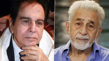 नसीरुद्दीन शाह यांनी Dilip Kumar यांना मानले महान कलाकार पण सिनेमातील योगदानाबद्दल उपस्थितीत केले प्रश्न