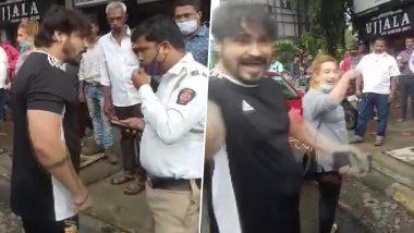 Misbehavior With Traffic Police at Mira Bhayander Incident: कारला जॅमर लावल्याच्या रागात तरूण जोडप्याचं ट्राफिक पोलिसासोबत उद्धट वर्तन; अटकेनंतर माफीनामा; व्हीडिओ वायरल