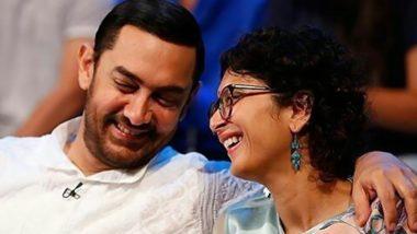 घटस्फोटाची घोषणा केल्यानंतर Aamir Khan आणि Kiran Rao पहिल्यांदाच आले एकत्र; चाहत्यांना दिला महत्वाचा संदेश (Watch Video)