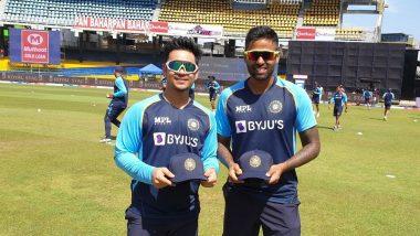 IND vs SL 1st ODI: बर्थडे बॉय ईशान किशन आणि सूर्यकुमार यादव यांच्या वनडे पदार्पणावर प्रशिक्षक राहुल द्रविड यांची प्रतिक्रिया, पाहा काय म्हणाले (Watch Video)