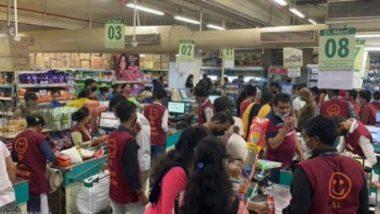 Mumbai: कोविड-19 नियमांचे उल्लंघन केल्याने मालाडमधील D-Mart केले सील- BMC