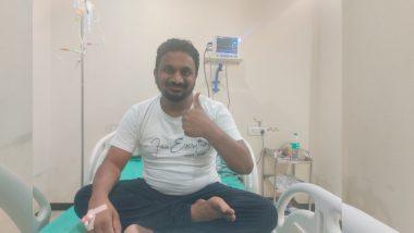 Amol Mitkari: आमदार अमोल मिटकरी भाषण सुरु असताना कोसळले, व्यासपीठावरुन थेट रुग्णालयात दाखल