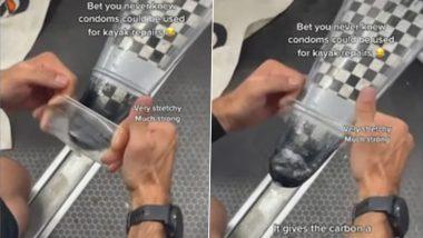 Tokyo Olympics 2020: ऑस्ट्रेलियन खेळाडूने Condom चा वापर करून दुरुस्त केले आपले kayak, पटकावले ऑलिम्पिक कांस्यपदक (Watch Video)