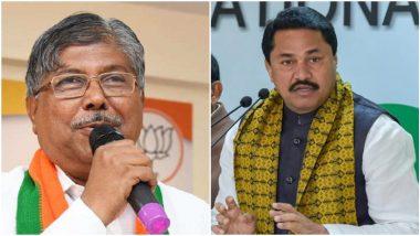 Shiv Sena on Nana Patole and Chandrakant Patil: चंद्रकांत पाटील यांच्या बागडण्याचे महाराष्ट्राला जे कौतुक तेच नाना पटोले यांच्या बोलण्याचे- शिवसेना
