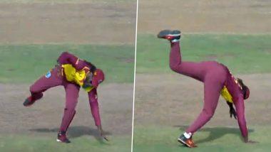 SA vs WI T20I 2021: पहिल्याच चेंडूवर विकेट घेतल्यानंतर Chris Gayle चे हटके सेलिब्रेशन झाले व्हायरल (Watch Video)