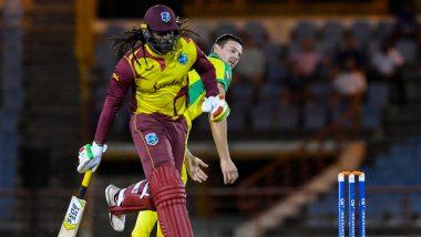 WI vs AUS 3rd T20I: क्रिस गेल, फिरकी गोलंदाजांची दमदार कामगिरी; वेस्ट इंडिजची ऑस्ट्रेलियाविरुद्ध 3-0 ने विजयी आघाडी