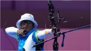 Tokyo Olympics 2020: तिरंदाजीत दीपिका कुमारीची कमाल, अंतिम-8 मध्ये केला प्रवेश