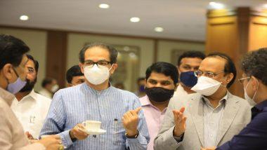 Happy Birthday Ajit Pawar: उपमुख्यमंत्री अजित पवार यांना मुख्यमंत्री उद्धव ठाकरे यांच्याकडून वाढदिवसाच्या शुभेच्छा
