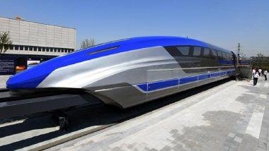 World's Fastest Train: चीनमध्ये सुरु झाली जगातील सर्वात वेगवान Maglev Train; एका तासात पार करणार 620 किमी अंतर (Watch Video)