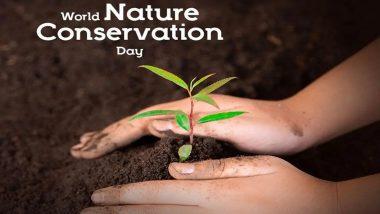 World Nature Conservation Day 2021: जागतिक निसर्ग संवर्धन दिन जगभरात उत्साहात होतोय साजरा