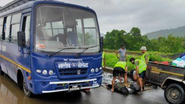 Konkan Flood: रत्नागिरी, रायगड जिल्ह्यात मदतीसाठी सात नौदल बचाव पथके मुंबईहून रवाना