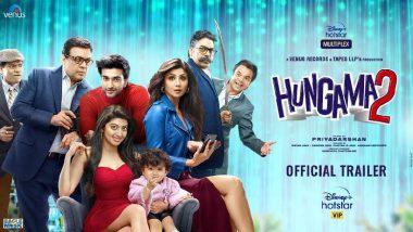 Hungama 2 Trailer: हंगामा 2 चित्रपटाचा ट्रेलर रिलीज