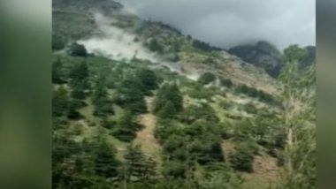 Himachal Pradesh: धक्कादायक! डोंगरावरून अचानक होऊ लागला दगडांचा वर्षाव, 9 पर्यटकांचा मृत्यू, 3 गंभीर जखमी, पहा अंगावर काटा आणणारा Video