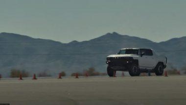 सिंगल चार्जमध्ये 482 किमी धावणार Hummer EV, खास फिचर्सबद्द जाणून घ्या अधिक