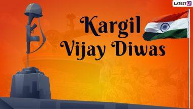 Kargil Vijay Diwas 2021 HD Images: कारगील विजय दिवसाच्या शुभेच्चा Quotes, Messages द्वारा शेअर करत वीर जवानांना करा सलाम