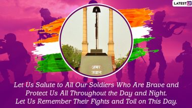 Kargil Vijay Diwas 2021 Messages: कारगिल विजय दिवसानिमित्त Wishes, Greetings शेअर करुन युद्धात प्राण गमावलेल्यांचे शहीदांचे करा स्मरण!