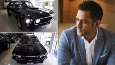MS Dhoni याच्या विंटेज गाड्यांच्या संग्रहात Ford Mustang कारचा झाला समावेश, जाणून घ्या किमतीपासून सर्वकाही