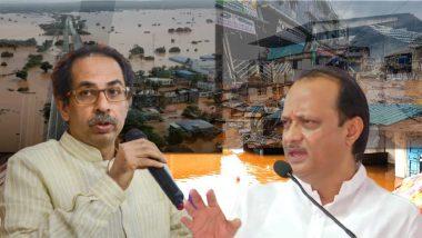 Maharashtra Flood: मुख्यमंत्री उद्धव ठाकरे, उपमुख्यमंत्री अजित पवार पश्चिम महाराष्ट्राच्या दौऱ्यावर, पूरपरिस्थीतीचा घेणार आढावा