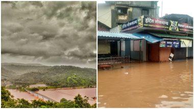 Maharashtra Rains Updates: कोल्हापूर, सातारा, रत्नागिरी जिल्ह्यात मुसळधार पाऊस, अनेक ठिकाणी पूरस्थिती, नद्यांनी ओलांडली धोक्याची पाणीपातळी