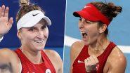 Tokyo Olympics 2020: स्वित्झर्लंडची Belinda Bencic व झेक प्रजासत्ताकची Marketa Vondrousova ऑलिम्पिक सुवर्ण पदक सामन्यात आमनेसामने