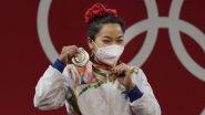 Tokyo Olympics 2020: ऑलिंपिकमध्ये रौप्य कामगिरीनंतरमीराबाई चानूची पहिली प्रतिक्रिया, म्हणाली-'हे पदक माझ्या देशाला समर्पित'