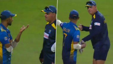 IND vs SL 2nd ODI: भारताच्या विजयानंतर Mickey Arthur यांचा चेहरा उतरला, मैदानात श्रीलंकन कर्णधार Dasun Shanaka याच्याशी जाऊन भिडले; पाहा व्हायरल Video