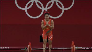 Tokyo Olympics 2020: वेटलिफ्टिंगमध्ये 49 किलो वर्गात भारताच्याMirabai Chanu हिने पटकावले रौप्यपदक, चीनची सुवर्ण कामगिरी