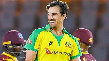 WI vs AUS 1st ODI: मिचेल स्टार्कच्या'पंच'पुढे वेस्ट इंडिजचे लोटांगण, पहिल्या वनडेत 133 धावांच्या विजयाने ऑस्ट्रेलियाची मालिकेत विजयी सुरुवात