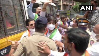 मुंबई, पुण्यात LPG दरवाढी विरोधात आंदोलन करणारे राष्ट्रवादी काँग्रेसचे कार्यकर्ते पोलिसांच्या ताब्यात