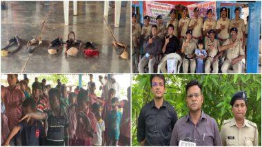 Nashik: नाशिकमध्ये  पक्षांच्या संरक्षणासाठी 97 खेड्यातील 700 विद्यार्थ्यांनी गोफण सोडली