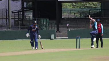 IND vs SL 2021: नवदीप सैनीची भेदक गोलंदाजी, श्रीलंका क्रिकेटने शेअर केले टीम इंडियाच्या दुसऱ्या इंट्रा-स्क्वॉड सामन्याचे हायलाइट्स (Watch Video)