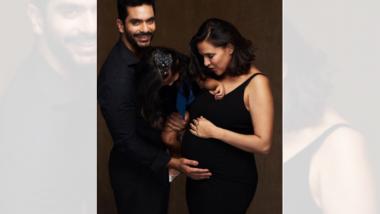 Neha Dhupia Pregnancy: नेहा धुपिया दुसऱ्यांदा होणार आई, बेबी बंप फ्लॉन्ट करत दिली गोड बातमी