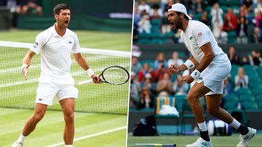 Wimbledon 2021: नोवाक जोकोविचची 7 व्या विम्बल्डन फायनलमध्ये धडक, Matteo Berrettini याच्याशी रंगणार विजेतेपदाची लढत