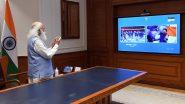Tokyo Olympics 2020: पंतप्रधान नरेंद्र मोदी यांनी कार्यालयात बसून असे केले भारतीय ऑलिम्पिक दलाचे स्वागत, पाहा Photo