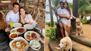 गोव्यानंतर मुंबई मध्ये एकत्र स्पॉट झाले Kim Sharma आणि Leander Peas; पहा Photos