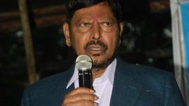 Ramdas Athawale Poem: देवेंद्र फडणवीस यांच्या उपस्थितीत रामदास आठवले यांना मुख्यमंत्री पदाची आठवण