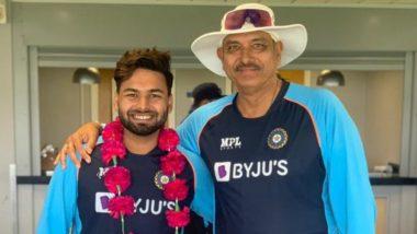 IND vs ENG 2021: 'हार के बाद ही जीत है'... कोरोनावर मात करून Rishabh Pant याचा भारतीय दलात समावेश, रवि शास्त्री यांनी असे केले स्वागत