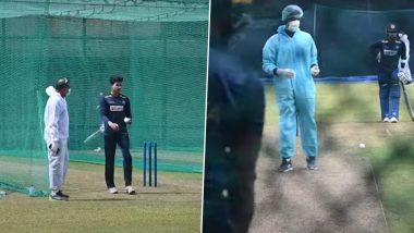 IND vs SL ODI 2021: कोविड-19 संकट दरम्यान श्रीलंकन प्रशिक्षकांनी PPE किट परिधान करून सुरु संघाचे प्रशिक्षण (Watch Video)