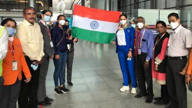 Tokyo Olympics 2020: भारताच्या महिला दुहेरीच्या टेनिसपटू Sania Mirza आणि Ankita Raina ऑलिम्पिकसाठी रवाना