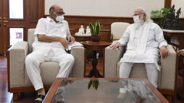 Sharad Pawar Meet PM Narendra Modi: पंतप्रधान नरेंद्र मोदी आणि शरद पवार यांच्यात भेट, चर्चेचा तपशील गुलदस्त्यात