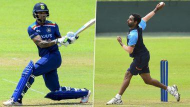 IND vs SL Series 2021: श्रीलंकेत इंट्रा-स्क्वाड सामन्यात भारतीय खेळाडूंनी दाखवला दम, शिखर धवन-भुवनेश्वर कुमार आले आमनेसामने (See Photos)