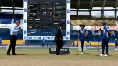 IND vs SL 3rd ODI 2021: टॉस जिंकल्यानंतर शिखर धवनने 'कबड्डी शैली'मध्ये साजरा केला आनंद, काही वेळातच व्हिडिओ व्हायरल