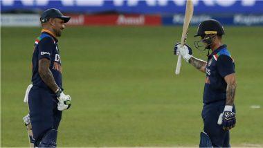 IND vs SL 1st ODI: टीम इंडियाची विजयी सलामी, शिखर धवन-ईशान किशनचाअर्धशतकी धमाका; श्रीलंकेचा 7 विकेट्सने पराभव