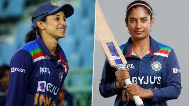 ICC Women's T20I Rankings: स्मृती मंधाना टी-20 फलंदाजांच्या टॉप-3 मध्ये; वनडे क्रमवारीत कर्णधार Mithali Raj पुन्हा नंबर-1