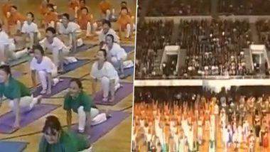 Fact Check: टोकियो ऑलिम्पिकच्या उद्घाटन सोहळ्यात करण्यात आला 'सूर्य नमस्कार'? जाणून घ्या व्हायरल व्हिडिओ मागील सत्य