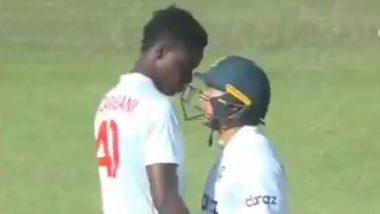 Video: बांग्लादेशी फलंदाजाने दाखवल्या डान्स मूव्हज; क्रिकेटच्या मैदानावर गोलंदाज आणि फलंदाजांमध्ये शाब्दिक बाचाबाची; BAN विरुद्ध ZIM सामन्या दरम्यानची घटना