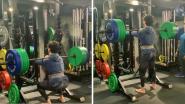 Mirabai Chanu मुळे प्रेरित झाला टायगर श्रॉफ, 140 किलो वजनासह केले स्कॉट्स (Video)