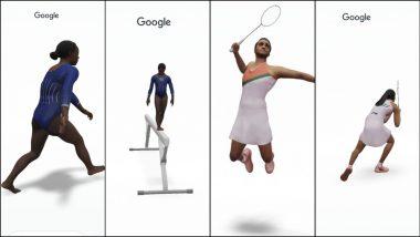 Tokyo Olympics 2020 Athletes in 3D: PV Sindhu, Simone Biles' सह निवडक ऑलंपिक खेळाडूंना त्यांच्या स्किल मध्ये 3D With Google AR मध्ये कसं पहाल?