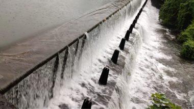 मुंबई ला पाणीपुरवठा करणार्या तलावांपैकी एक Tulsi Lake ओव्हर फ्लो